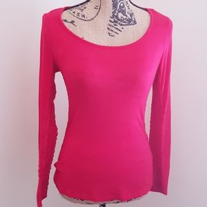 Been Red Long Sleeves Top Lace Details